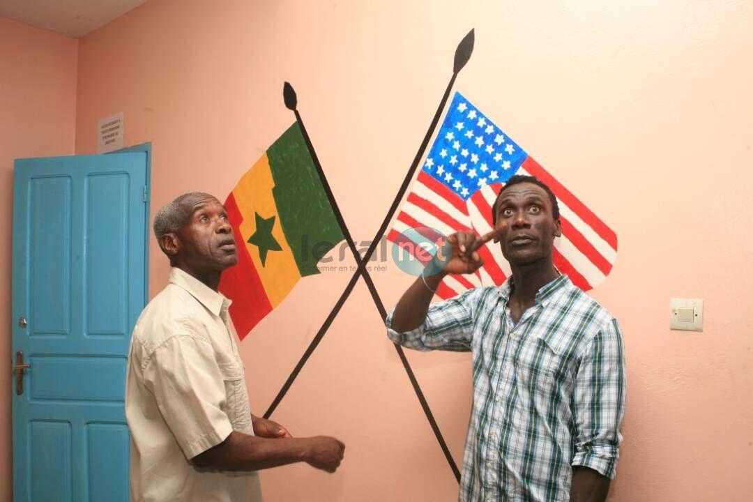 PHOTOS - l'Ambassadeur américain Tulinabo S. Mushingi à la Maison de la Gare de Saint-Louis