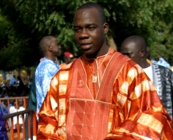 Abdou Guit Seck, en mode ''Slal''