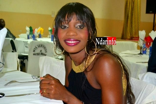 L'athlète saint-louisienne Ndèye Fatou Soumah, à la soirée ''Excellence 2012''.