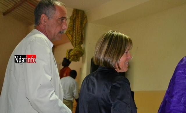 Jean Jacques et Murielle Bancal, à la soirée ''Excellence 2012'' du Conseil régional.