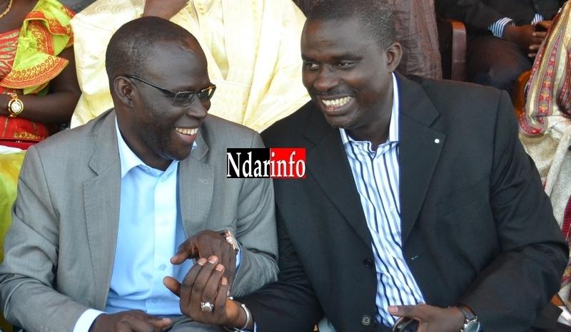 Photo| Régates - Sargal Ndar: Le Préfet et le Maire, très souriants.