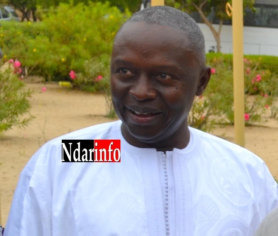 Photo| Le professeur Lamine Guèye, le nouveau recteur de l'UGB.