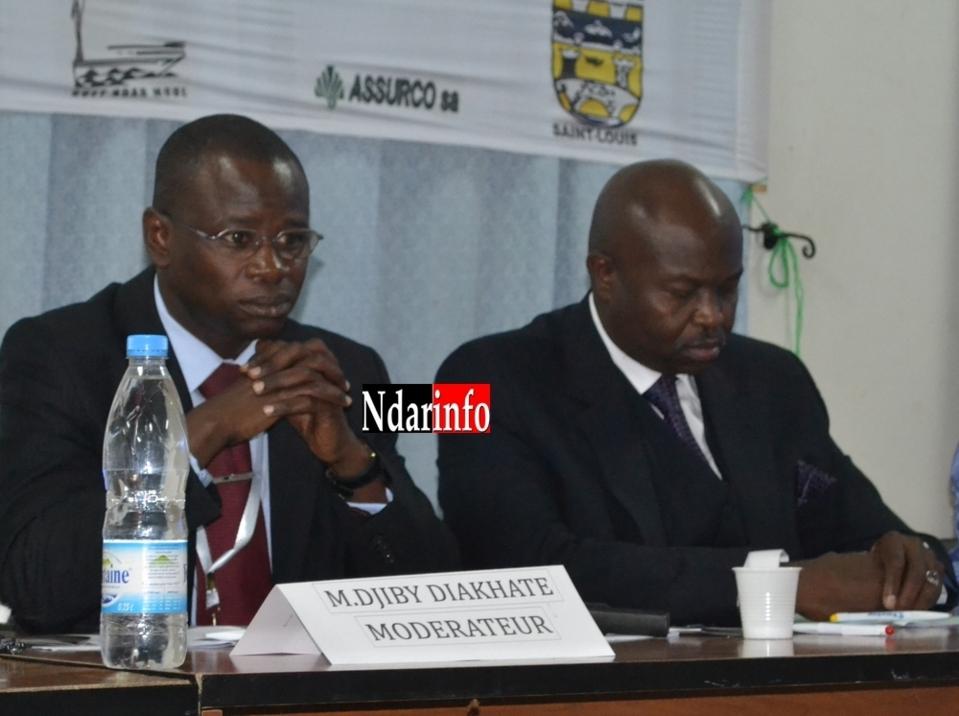 Photo| Djiby Diakhaté et Alioune Badara Cissé.