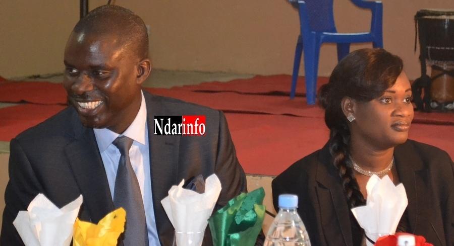 Le Préfet Serigne Mbaye et Mme, à la soirée Excellence 2012 du Conseil régional.
