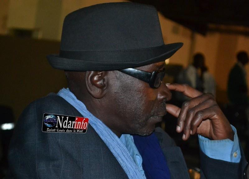 Babacar Maurice Ndiaye, en mode ''boss''.