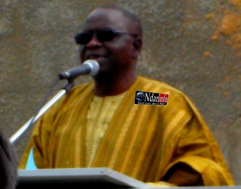 Aliou Niang, le président du Conseil régional de St-Louis.