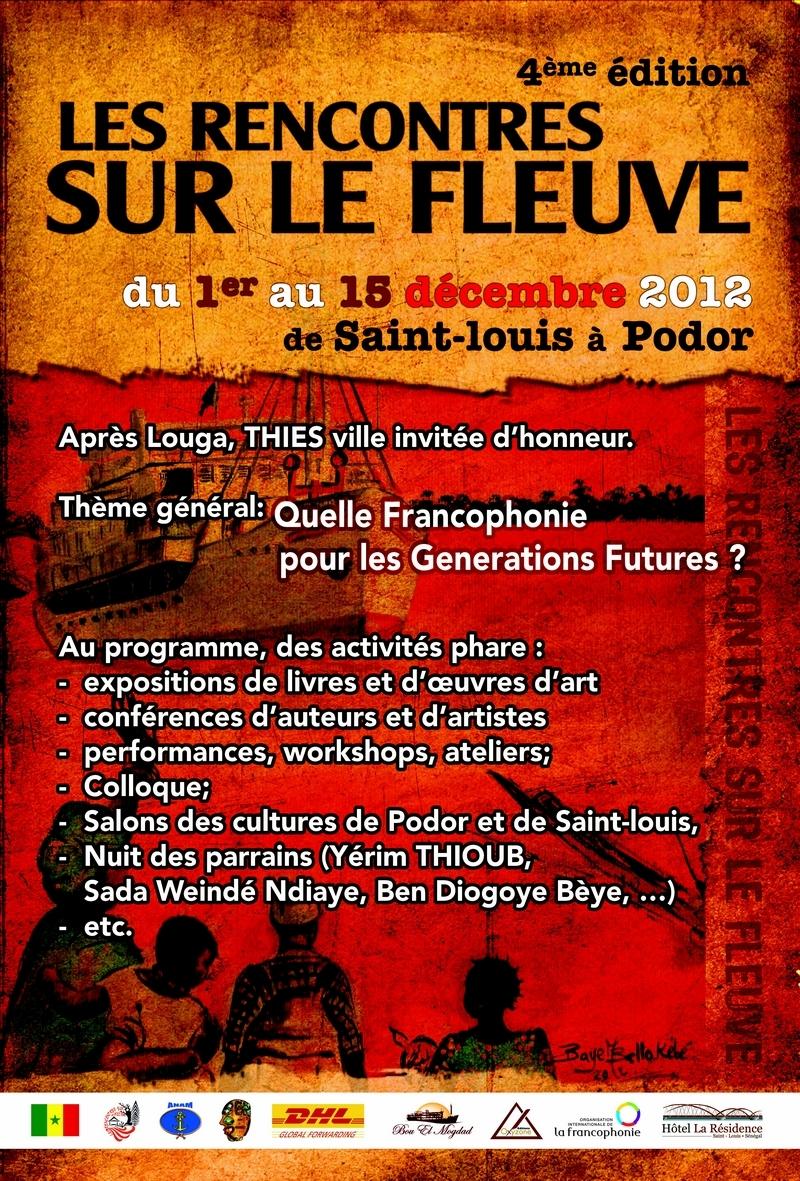 Quatrième édition des Rencontres sur le fleuve du 1-er au 15 décembre