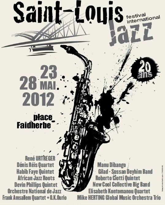 EXCLUSIF: Programme 2012 du Festival de Jazz de Saint-Louis