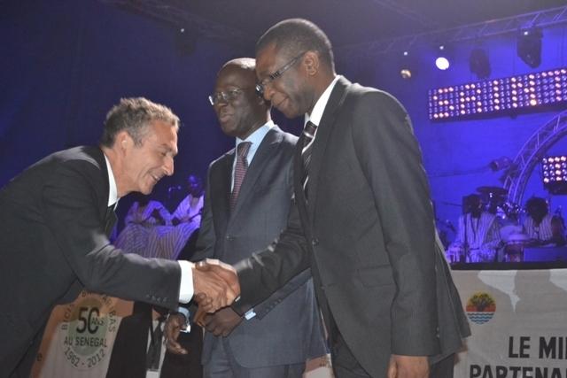 Saint-Louis Jazz 2012: Youssou Ndour remet des distinctions aux partenaires et soutiens