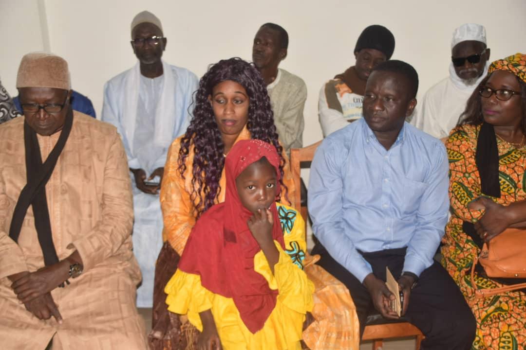 Poste : Ismaila Ndiaye « Diango» honoré ( photos)