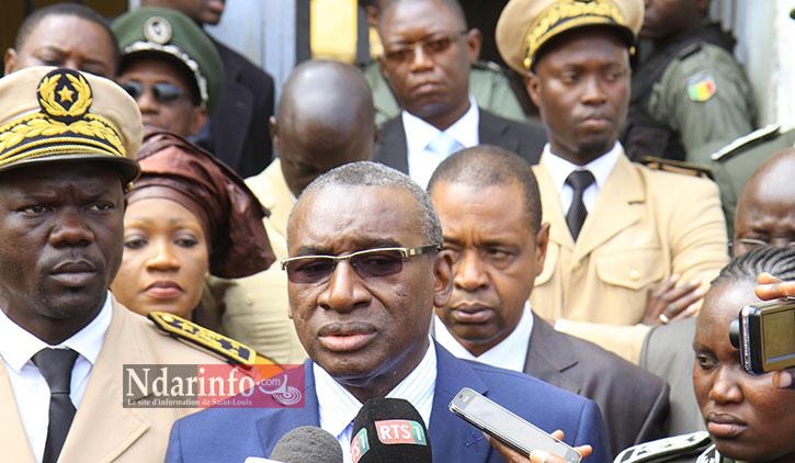 JUSTICE : Sidiki KABA annonce le redémarrage des travaux de la Cour d'appel de Saint-Louis
