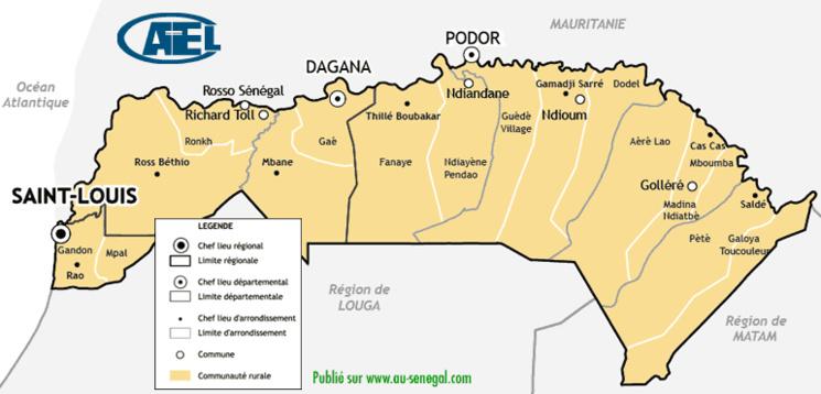 Composition et organisation du HCCT: Saint-Louis élira 6 hauts conseillers.