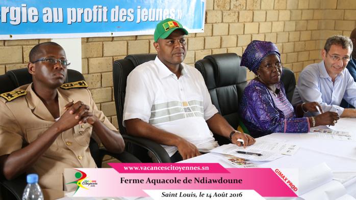 Saint-Louis: Mame Mbaye NIANG inaugure une ferme pour l'emploi des jeunes à NDIAWDOUNE