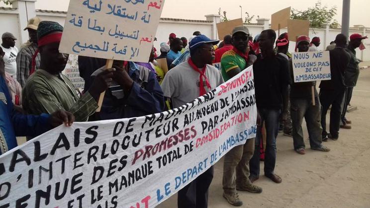 Mauritanie: la police interrompt la manifestation des ressortissants Sénégalais