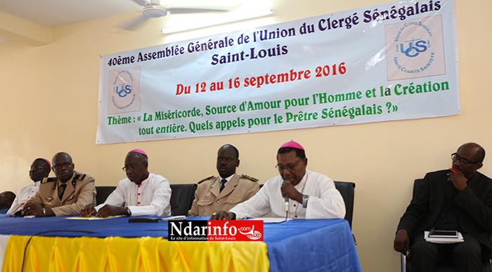 Saint-Louis : la 40e assemblée générale de l'Union du Clergé sénégalais s'est ouverte (vidéo)