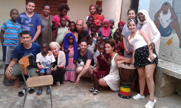 Coopération : dix jeunes monsois (France) en voyage solidaire à Saint-Louis.