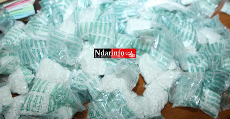 DROGUE DURE : la Douane de Saint-Louis stoppe 18 kg de métaphétamine d'une valeur de 2 milliards 574 millions FCFA. Regardez !