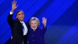 """Obama: """"Je parie que vous allez rejeter la peur et choisir l'espoir"""""""