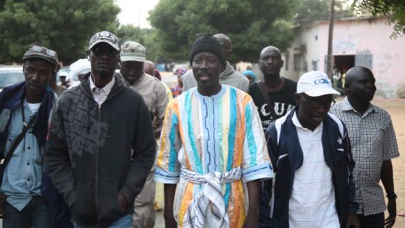 (Vidéo) Magal 2016: Pour rallier Touba à pieds, Le maire de Thies Talla Sylla a quitté Thies aujourd'hui