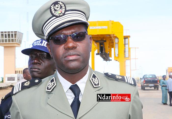 Le commandant Ousseynou FAYE, chef de la subdivision régionale des Douanes de Saint-Louis