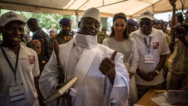 URGENT - Jammeh rejette les résultats et parle de « fraudes »