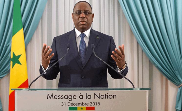 Le  Message du Chef de l'Etat à la Nation