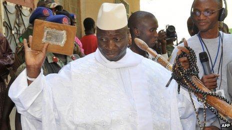 Yahya Jammeh aurait quitté Banjul et serait en Guinée Conakry...