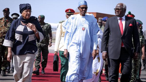 Crise en Gambie: le président nigérian Buhari recevra ses homologues du Sénégal, Ghana, Libéria et de la Sierra Leone ce lundi 09 janvier à Abuja