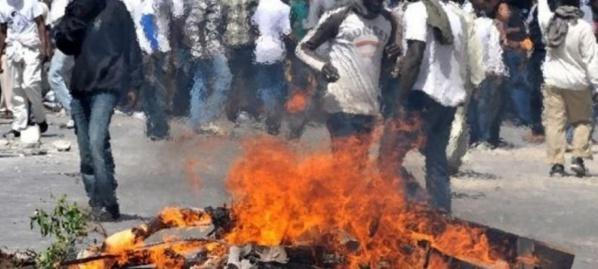 Les partisans du maire Bamba Fall se révoltent : pneus brûlés et routes barrées
