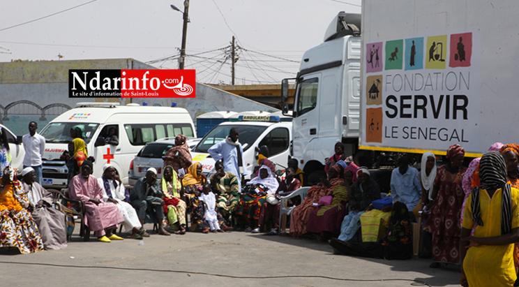 Consultations gratuites : À Saint-Louis, La Fondation Servir le Sénégal traite près de 3000 personnes (vidéo)