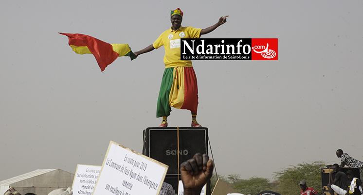 Accueil du PR: la mobilisation du « Lion » de FASS impressionne la République (vidéo)