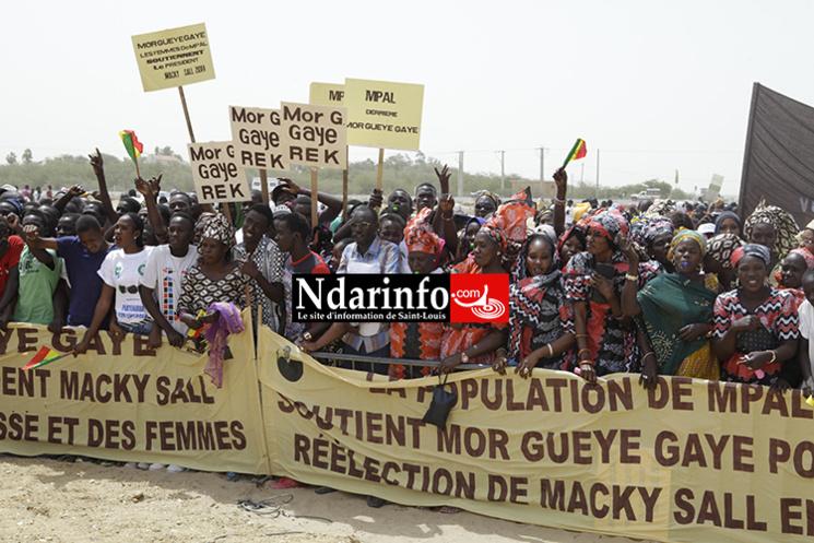 L'APR de MPAL aux avant-postes : Mor Guèye GAYE plébiscité à l'accueil du PR. Regardez !