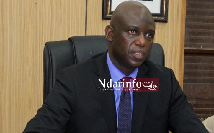 Amadou Masour FAYE, le maire de Saint-Louis
