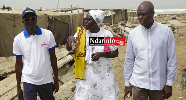 Lutte contre l'insécurité : Mansour FAYE éclaire le site de transformation de Guet-Ndar