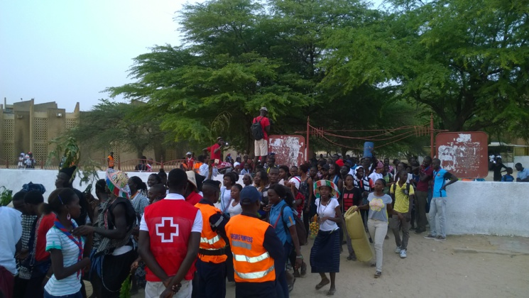 Journées Mondiales de la Jeunesse Catholique (JMJ) à l'aumônerie Saint-Augustin de l'UGB : un grand carnaval organisé à l'accueil des délégations
