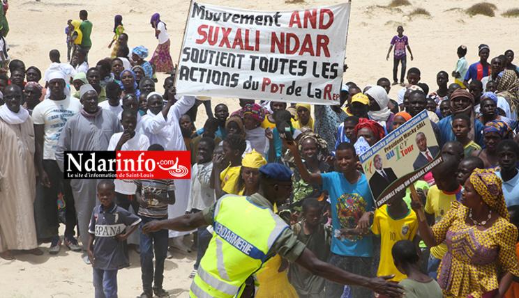 Macky à POTOU : And Suxali NDAR mobilise Guet-NDAR