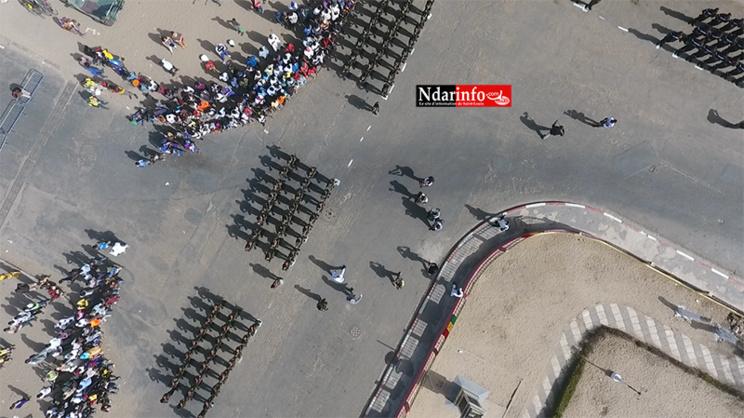 EXCLUSIF – Des vues aériennes du défilé de Saint-Louis ( photos)