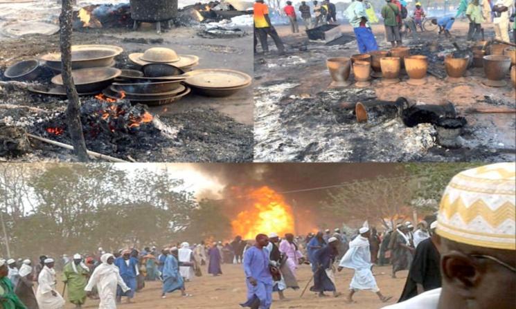 Incendie au Daaka : Cinq suspects arrêtés. Le bilan passe à 29 morts