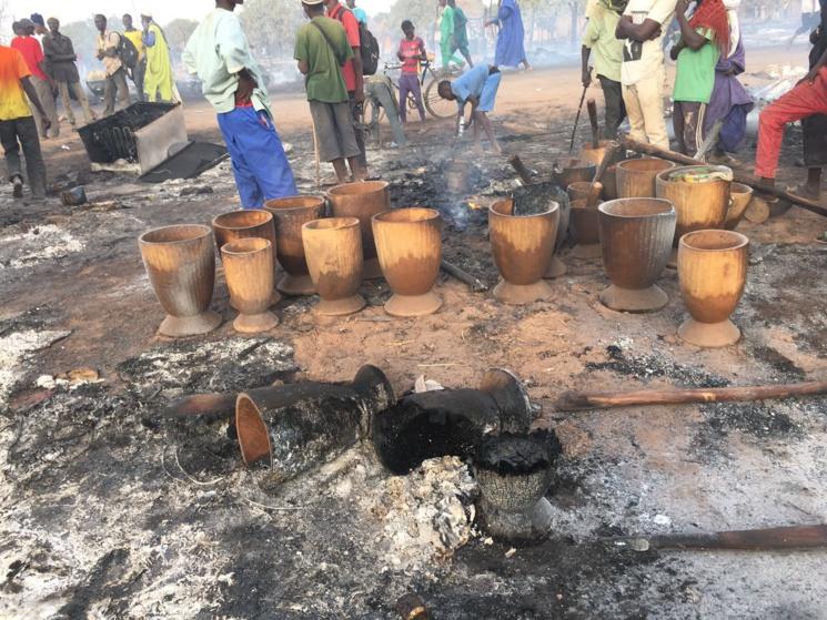 Incendie au Daaka : le bilan s'alourdit à 29 morts et 70 brûlés (ministre)