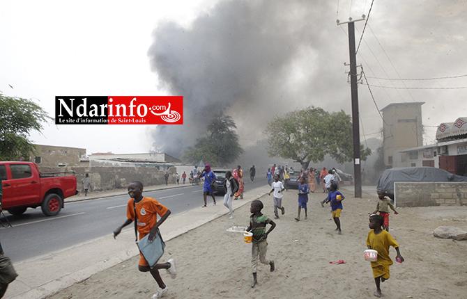 URGENT : plusieurs ateliers prennent feu à Léona (vidéo-photos)