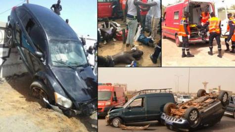 Accidents de circulation: 200 morts enregistrés en quatre mois au Sénégal