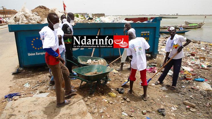 LANGUE DE BARBARIE : vers l'éradication d'au moins 80% des dépôts irréguliers de déchets (vidéo)