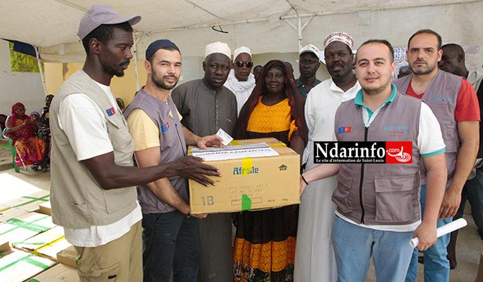 Assistance aux personnes démunies : Hasene distribue des vivres à Saint-Louis ( vidéo )