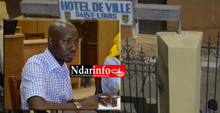 El Hadji Malick DIAKHATE, chef des services techniques municipaux  de Saint-Louis