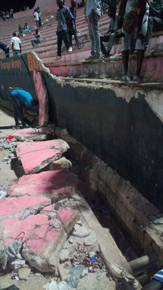 Stade Demba Diop : Le mur du drame ?