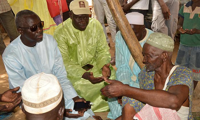 Département de Dagana : la Coalition BBY laboure le terrain