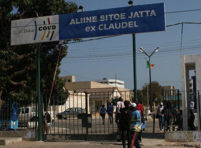 Dernière minute : Drame à Claudel (UCAD) L'étudiante glisse et tombe du 4e étage