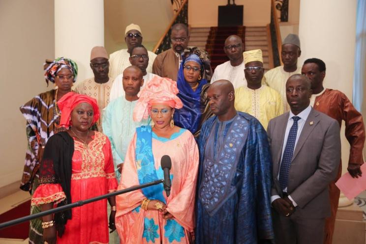 Macky s'est entretenu avec les 15 députés de la diaspora