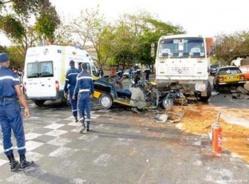 Accident sur la route de Matam, quatre morts et quatre blessés graves