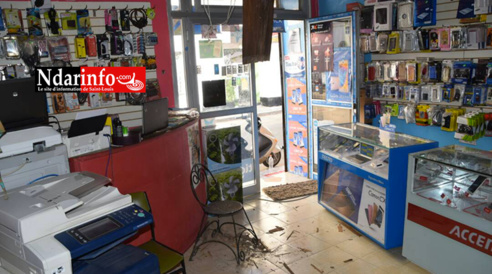 Cambriolage d'une boutique dans l'île Nord : Les voyous démontent les tuiles, emportent près de 2 millions de francs CFA